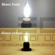 Ampoule led C35 candle filament  4w