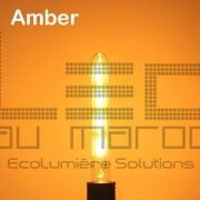 Ampoule led T30 225 filament 4w amber dimmable