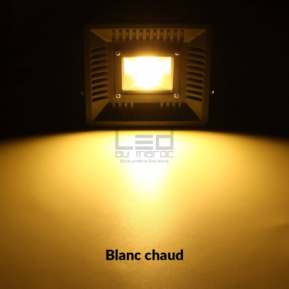 projecteur led 100w ultraslim blanc chaud led au maroc casablanca. Black Bedroom Furniture Sets. Home Design Ideas